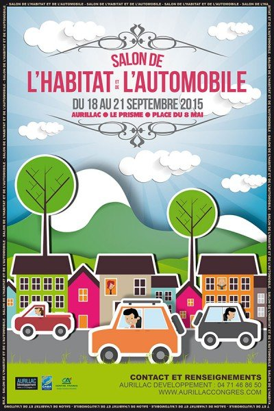 Salon habitat aurillac du 18 au 21 septembre 2015 le for Salon habitat