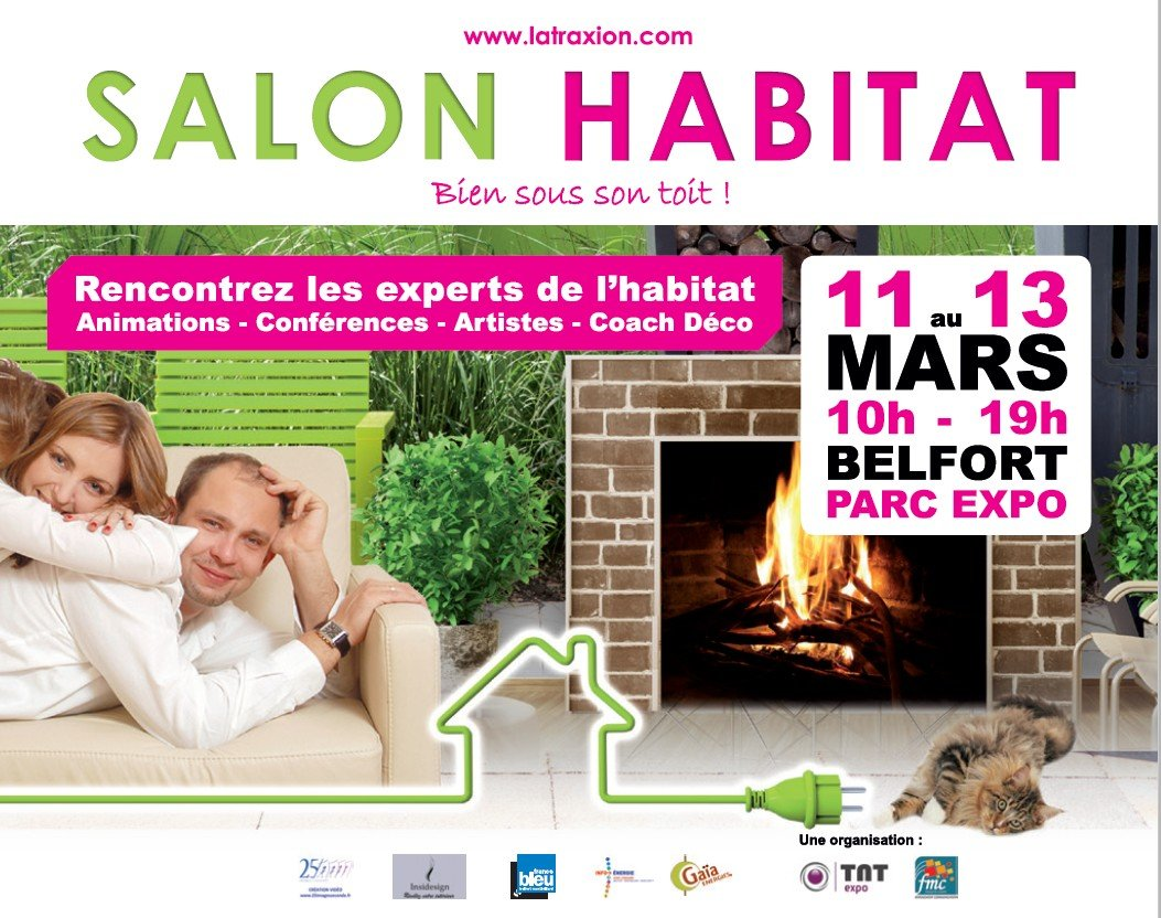 Salon de l habitat belfort parc expo du 11 au 13 mars 2016 for Salon habitat