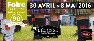 Foire de Besançon du 30 avril au 8 mai 2016